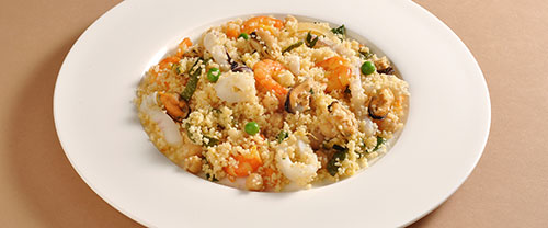 Try this Seafood Couscous Paella