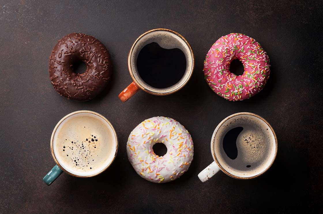 Coffee Can Trigger Cravings for Sweets