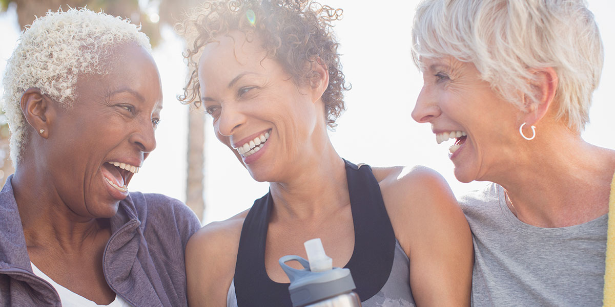 Socializing can help your heart health especially as you age.