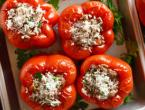 Try this recipe for Roasted Red Peppers Stuffed with Kale & Rice